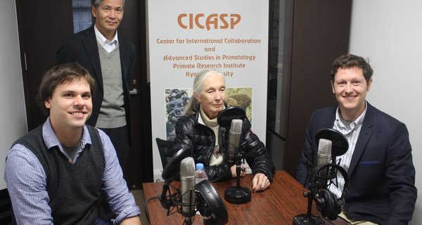 An Interview with Dr. Jane Goodall