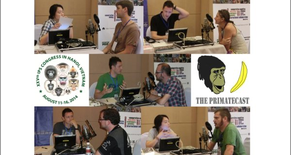 The PrimateCast #29: Part 5/5 from Our Coverage of the 25th Congress of the IPS