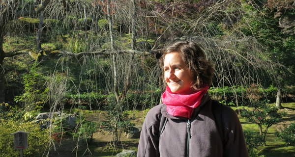 Dr. Janet Nackoney in Kyoto, 2012