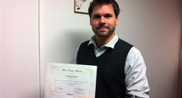 Dr. Christopher Flynn Martin gets best poster award at IIAS